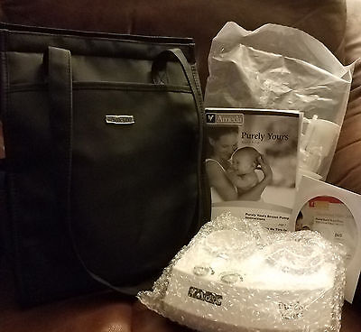 Ameda Purely Yours Express Double Electric Breast Pump New with Bag & Bonus