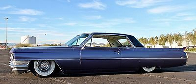 1964 Cadillac DeVille  1964 Cadillac Coupe DeVille  - bagged, new paint, metal flaked roof