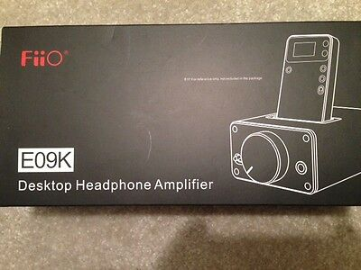 FiiO E09K (QOGIR) Desktop Headphone Amplifier and Dock, in factory wrapping