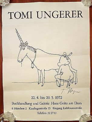 Tomi Ungerer 1972 SIGNIERT SIGNED AUTOGRAPH Truc is stranger fiction Fornicon