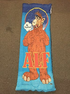 Vintage Alf 1987 Alien Productions Sleeping Bag Collectible