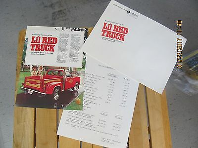 Dodge 1978 LIL Red Express Truck brochure