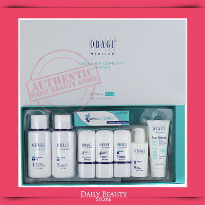 Obagi NuDerm FX Kit Normal to Oily FULL SIZE BRAND NEW FAST SHIP