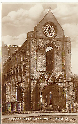 West Front Of Abbey, JEDBURGH, Roxburghshire RP