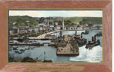 View From The East & Steamers, ROTHESAY, Isle Of Bute