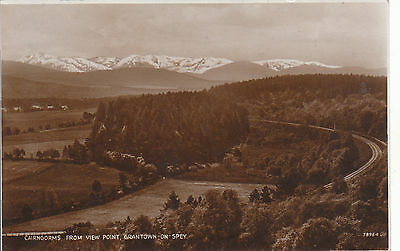 Cairngorms From View Point, GRANTOWN ON SPEY, Morayshire RP