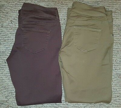 Lot of 2 Maurice's Jeggings Small Short S-S