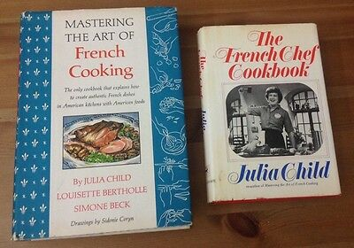Mastering The Art Of French Cooking '66 + The French Chef Cookbook FE
