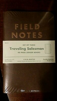 Field Notes Traveling Salesman - Fall 2012 Edition 3 Pack