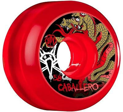 Bones - Caballero Clear 58MM 84B P5 SPF Skateboard Wheels