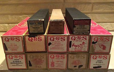 Lot Of 13 Player Piano Music Rolls QRS International Vocalstyle Vintage