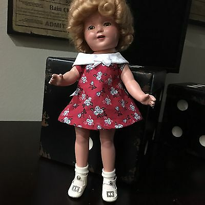 Darling, Restored, 13 Inch Shirley Temple Composition  Doll