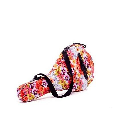 Rebecca Minkoff Tennis Racquet Nylon Cover Holder Bag Floral NWT NEW