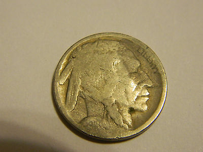1916 D 2 Feathers? Buffalo Nickel Acid Recovered Date