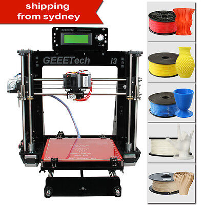 GEEETECH 3D Printer Reprap Prusa I3 ProB Support 5 materials SHIPPED FROM Sydney
