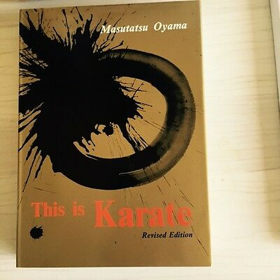 THIS IS KARATE KYOKUSHIN 365 Pages Of Teaching & Illustrations By Mas Oyama