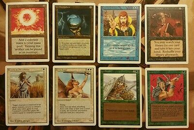Unlimited 1993 Common & Uncommon Set X1 Magic the Gathering NM/MINT Unplayed