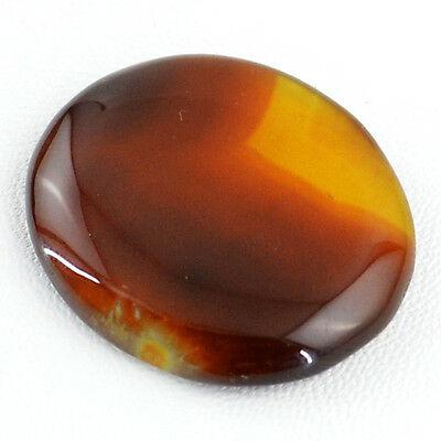 Finest Top 47.70 Cts Natural Loose Amazing Rich Orange Onyx Untreated Gemstone