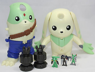 2000 Digimon Terriermon Deluxe Digivolving Playset Figure Bandai