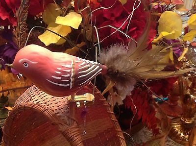 Vintage/Antique/ Old World Christmas Glass Bird Ornaments