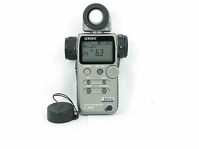 Sekonic L-608 SUPER ZOOM Flash Master Digital Light Meter FREE SHIPPING JAPAN