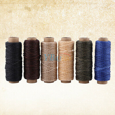 50M 150D 1mm Leather Sewing Waxed Thread Wax String DIY Craft Stitching Tool New