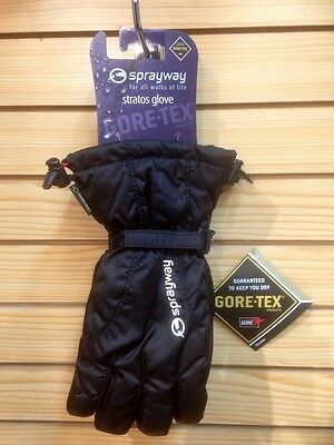 Sprayway Stratos Goretex Gloves GTX Insulated Winter Walking Hiking Skiing
