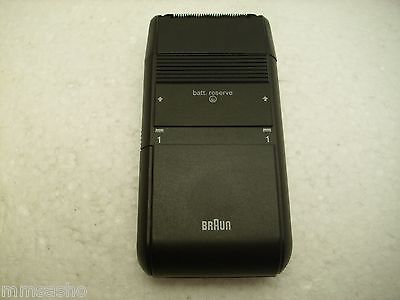 Rare Vintage Battery Electric Shaver BRAUN 5522  made in GERMANY