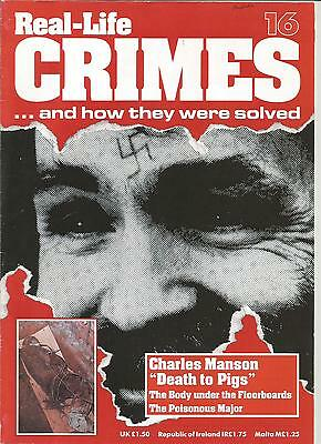 """Real Life Crimes ' Charles Manson """"Death to Pigs"""" Part 16"""