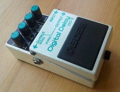 Boss DD2 Japan 1984 Digital Delay guitar effects pedal Vintage MIJ