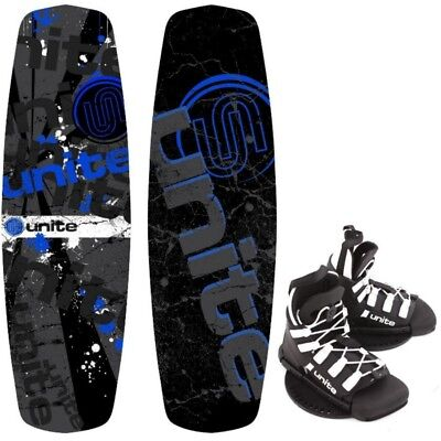 Base Sports REVOLVER 140 Package Wakeboard mit Wakeboardbindung 2017 blue