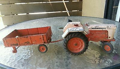 "Vintage Toy Tractor With Trailer "" Comfort King 1030 Case"" Lovely Piece Must See"