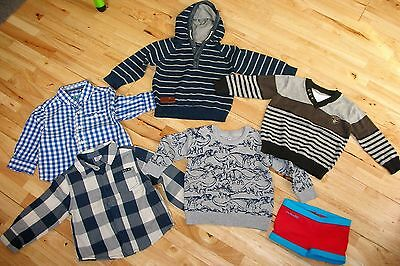 baby boy bundle 9-12 months  and 12-18 months ( jumpers and shirts)