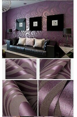 3d wallpaper roll mural papel de parede flocking for striped wall paper