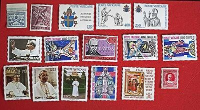 Lot  Timbres Neufs Italie / Vatican