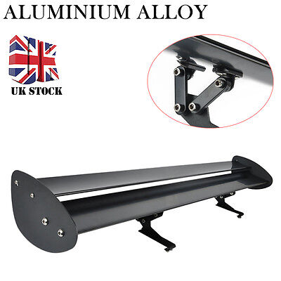 43inch Two Row Universal Aluminum Adjustable Double Deck GT Rear Wing Spoiler