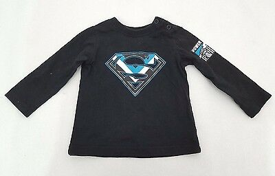 Port Adelaide Power AFL Football Baby Top T-Shirt Size 000 Superman