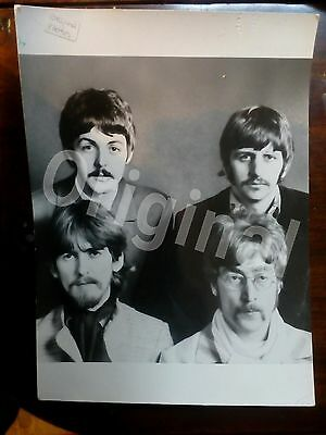 Original beatles photo. Print from negative. Not a reproduction.