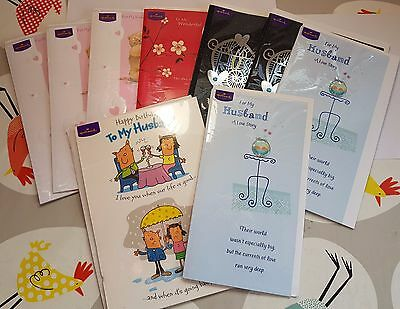 New joblot greetings cards wife husband hallmark cards wholesale greetings cards