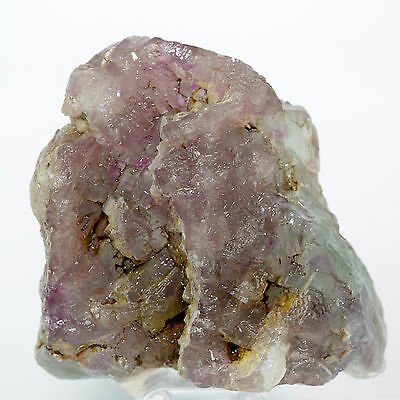 205g Purple / Pink Fluorite Rough Gemstone Crystal Mineral Specimen from China