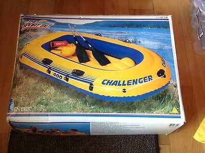 Challenger 400 Inflatable Dinghy 4 Person