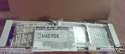 Tamiya # 56516 RC Maersk 40' Container - For 1/14 Semi Trailer NEW IN BOX