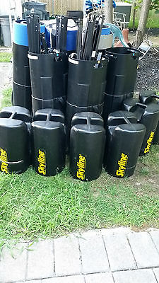 Lot of 6 Skyline Pop-up Display System with Hard Cases