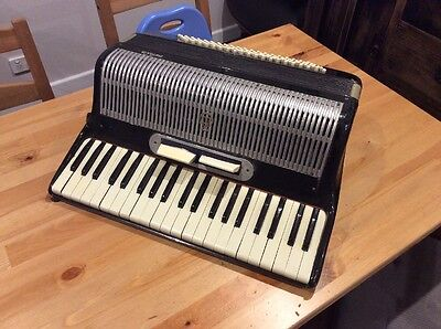 Vintage Frontalini Piano Accordion; 120 Bass; Made In Italy