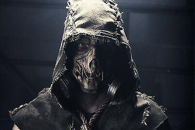 Fully Finished Scarecrow, from Batman's Arkham Knight - Latex Mask with Hood