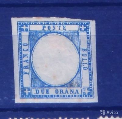 Italy Sicily 1860 cat $145 MH* light stains on back