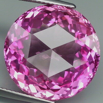 Charming!!! 25.45ct. Pink Topaz Round&Fancy Table