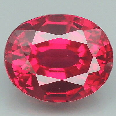 Goodly!!! 5.8ct. Red Topaz Oval