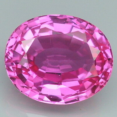 Attractive!!! 7.1ct. Pink Topaz Oval