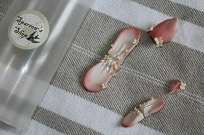 Sparrow Shop Bunny ears and tails for MNF, YoSd and Pukipuki size BJD set